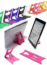 "Apple iPad Holder, Galaxy Tab 9"" 10"" Computer Tablet PINK iClip Folding Stand"