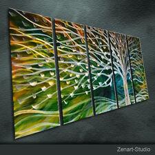 Modern Metal Wall Art Original Abstract Special Indoor Outdoor Decor by Zenart