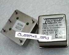 1 Isotemp Ocxo 143 168 10mhz 5v Sc Cut Ttl Square Wave Crystal Oscillator