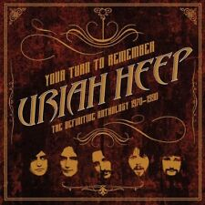 URIAH HEEP YOUR TURN TO REMEMBER THE DEFINITIVE ANTHOLOGY 1970-1990 2 X VINYL LP