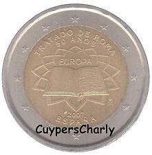 Spanje 2007 2€ UNC Verdrag van Rome