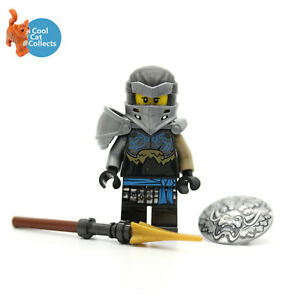 Genuine Lego Ninjago Hero Nya Minifigure (njo604) with Accessories from 71717