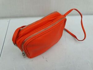 Orange Trafaluc Small Shoulder Festival bag