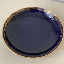 Sous Tasse a Thé En Porcelaine Bleu Manifacture De Sevres