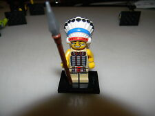 Lego Series 3 Tribal Chief minifigure, used/complete