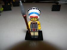 Lego Series 3 Tribal Chief minifigure, used/complete
