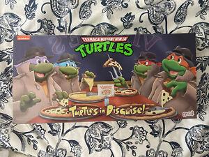 NECA TMNT Teenage Mutant Ninja Turtles in Disguise 4 pack Target Exclusive