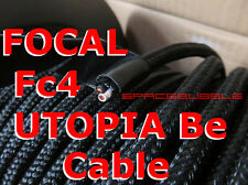 FOCAL UTOPIA Be Fc4 Cable audiophile OFC 2x(1.5 + 2.5) = 2x 4 mm² SQ Hifi Hi End
