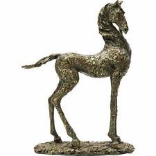 Kare Deko Objekt Art Proud Horse 40 cm Bronze-Statue Pferd 30 x 39,5 x 11,5 cm