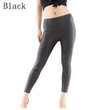 Bigsweety Lady Leggins Pants Autumn Winter Faux Leather Leggings