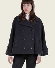 Classic Neckline Poncho Coats & Jackets for Women