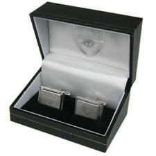 Arsenal Fc Stainless Steel Metal Cufflinks In Executive Gift Box