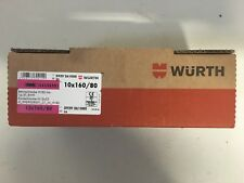 Würth Betonschraube W-BS/A4 , Typ ST, SW 9 , Stockschraube 10x160/80