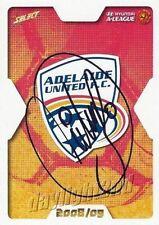 Autograph Adelaide United Original Soccer Trading Cards
