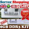 Lll Serveur Mémoire 2GB PC2-4200R ECC Reg 1Rx4V 240pin DDR2 533Mhz Seul Rank RAM