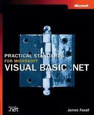 Practical Standards for Microsoft Visual Basic.NET, Hardback, New, English