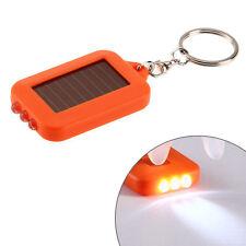 Mini Super Bright Light LED Camping FlashLight Ring Key Chain Pocket Lamp
