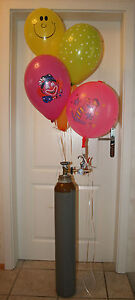 Luftballons, Ballongas-Füllung für einzelne Latex- und Folien- Ballons