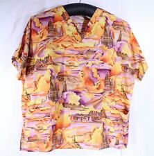 Animal Kingdom Nurses Scrub 5XL XXXXXL Painted Desert Arizona Utah 2 Pockets