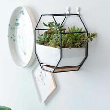Ceramic Plant Pot Succulent Flower Planter Miniature Wall Hanging Bonsai Decor