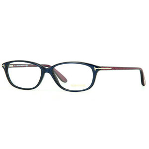 NEW AUTHENTIC Tom Ford TF5316 092 Eyeglasses Blue 54-14-140