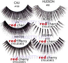 Red Cherry Lashes FIVE PAIRS of Lashes (All Style)