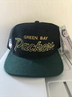 Sports Specialties Greenbay Packers Script Vintage Snapback Hat Nwt