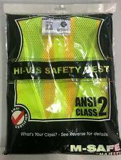 Majestic High Visibility Safety Vest Majestic 75-3209 Size Large