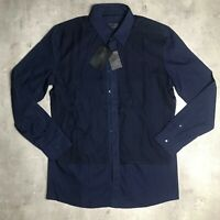 D. GNAK Layered Button Shirt Size XL