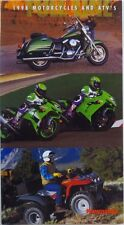 OEM KAWASAKI 1998 Motorcycles and ATV Sales Brochure Pamphlet