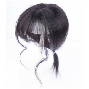 Air Bang Top Piece Closures Toppers Toupees Human Clip In On Hair Extensions