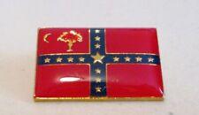 South Carolina Sovereignty Flag Lapel Pin CSA Civil War Enamel Metal Clutch Pin
