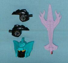 original G1 Transformers PIRANACON PARTS WEAPONS LOT #23 r+l fist sword head