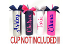 Personalized Name Custom Vinyl Decal For Your Tumbler Water Bottle Cup Sticker photo