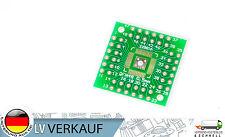 2 unidades QFN44 QFP48 QFP44 LQFP según DIP48 Adaptador Tablero Platina für DIY