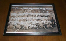 1915 RED SOX FRAMED TEAM PRINT INCLUDING BABE RUTH