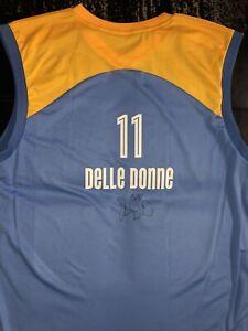 Elena Delle Donne Autographed Adidas WNBA Chicago Sky Jersey MVP EDD