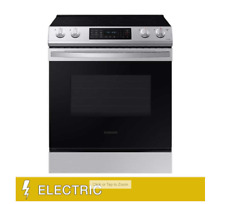 Samsung 6.3 cu. ft. Front Control Slide-in Electric Range with Convection and Wi