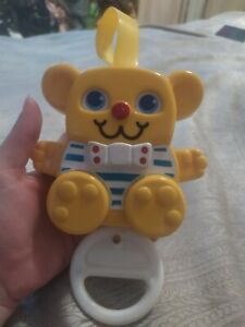 Vintage 1988 Matchbox Childs Baby Musical Pram Cot Toy Mobile