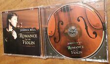 Joshua Bell - Romance of the Violin (CD, 2003, Sony Music)