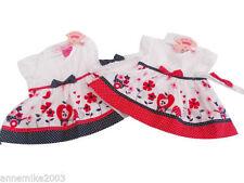 Robes coton mélangé pour fille de 0 à 24 mois