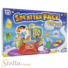 Splatter Face Battle Cream Pie Splat Childrens Family Game 0003