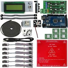 3D printer,Reprap Kit RAMPS 1.4 for Arduino Mega 2560,PCB heatbed MK2a,A4988