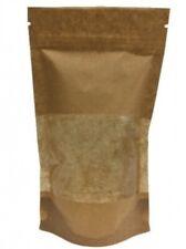 Doypack Paper zip bag pouch stand up zip lock standbeutel 750ml 100x