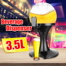 3.5L Beer Dispenser Machine Drinking Bar Cold Alcohol Beverage Container Pourer