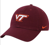 Virginia Tech Hokies Nike Heritage 86 Logo Adjustable Unisex Hat - Maroon