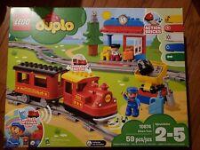 Lego Duplo 10874 Steam Train Remote Control Building Blocks NEW in box SEALED