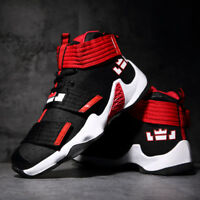 Men's  Basketball Shoes Breathable Boots High Top clasp Sneakers Sports Running