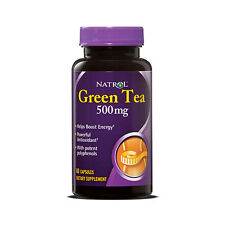 Green Tea Grüner Tee Natrol 60 Kapseln 500mg