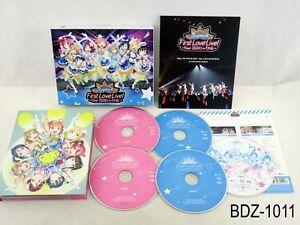 Love Live Sunshine! Aqours First LoveLive Blu-Ray Memorial Box BD JP US Seller